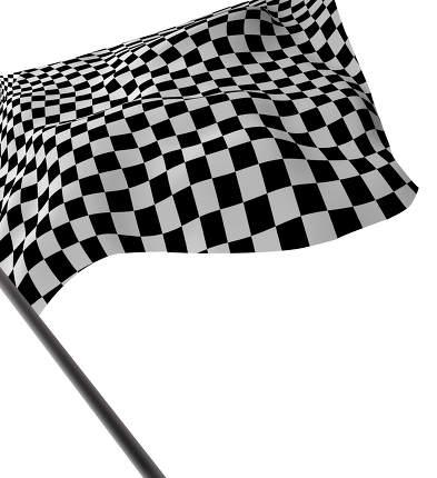 Large Checkered Flag