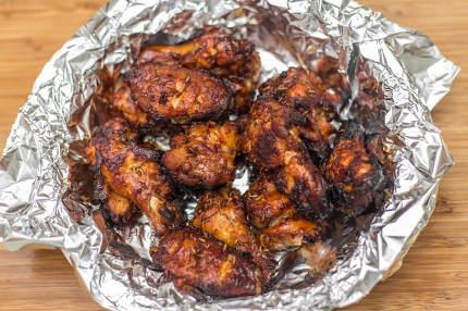 Fried chicken very nice shot