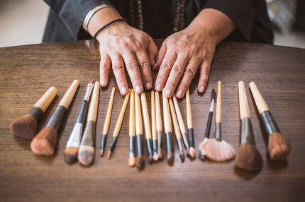 makeup brushes set for professional