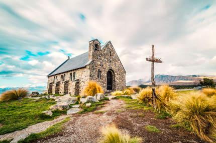 The Church of the Good Shepherd, Lake Tekapo, New Zealand nice photo