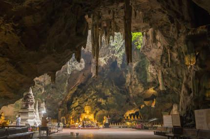 THAILAND PHETBURI THAM KHAO LUANG CAVE