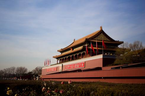 The Tiananmen, or Gate of Heavenly Peace, is a famous monument i