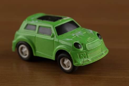 toy car closeup