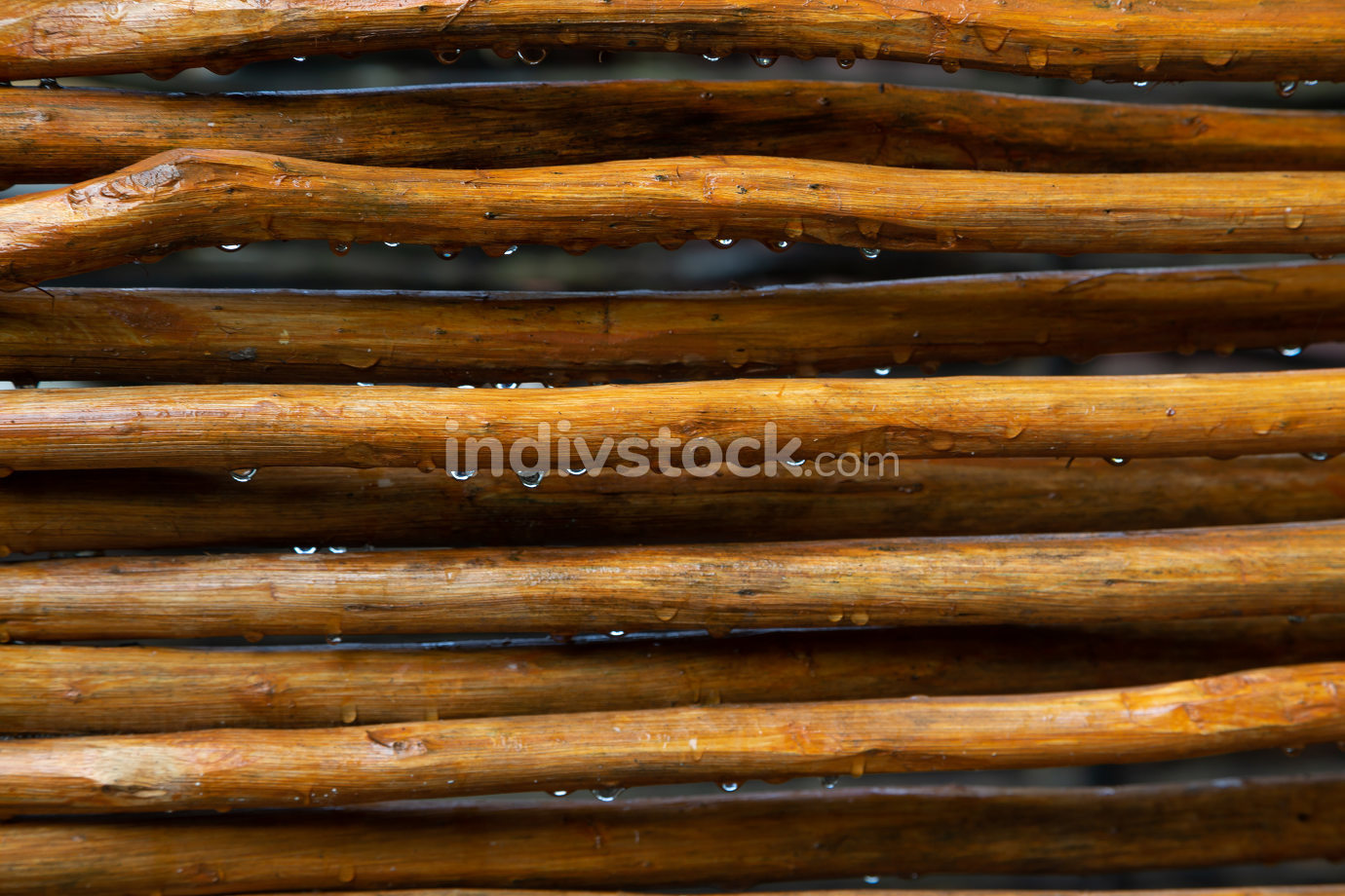 A Background from a wooden mesh or wood