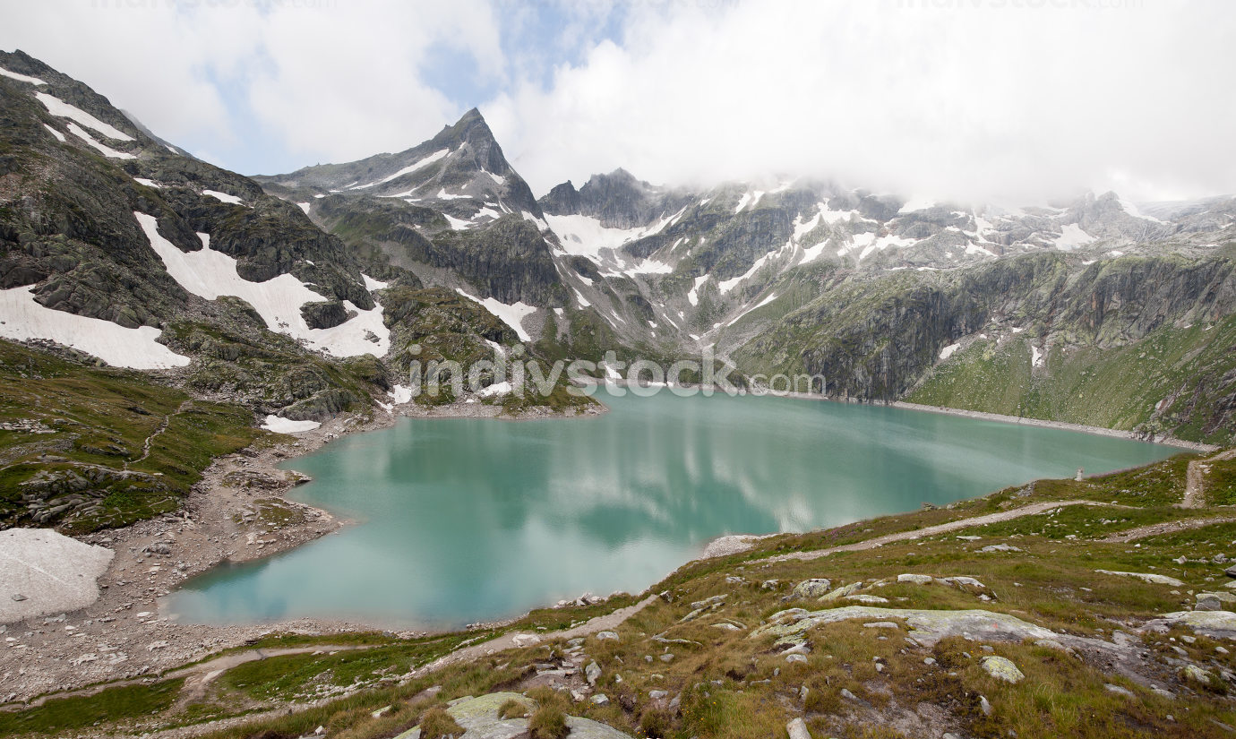 Austria, a small sea in the mountains