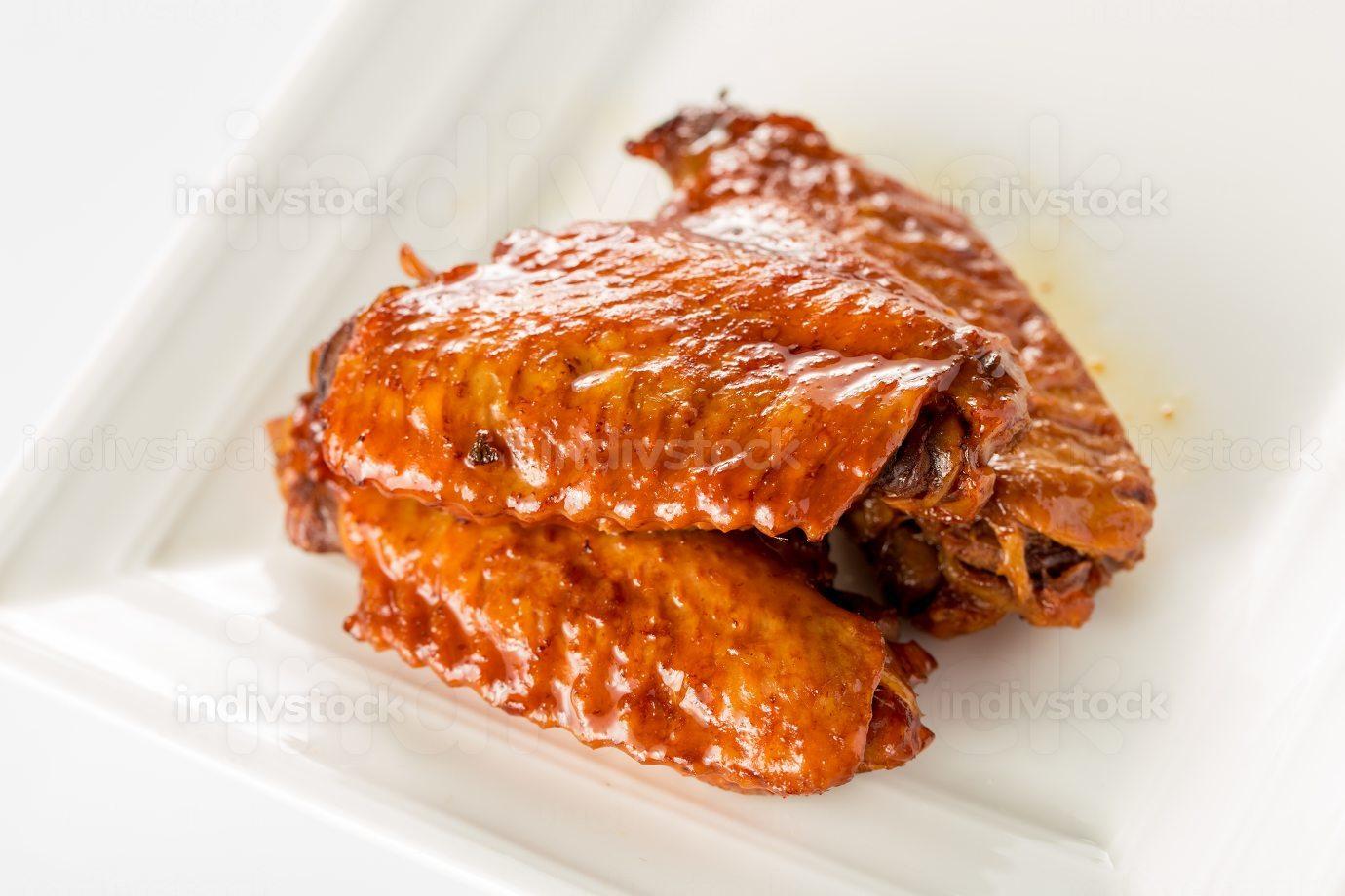 Chinese food, coke braised chicken wings