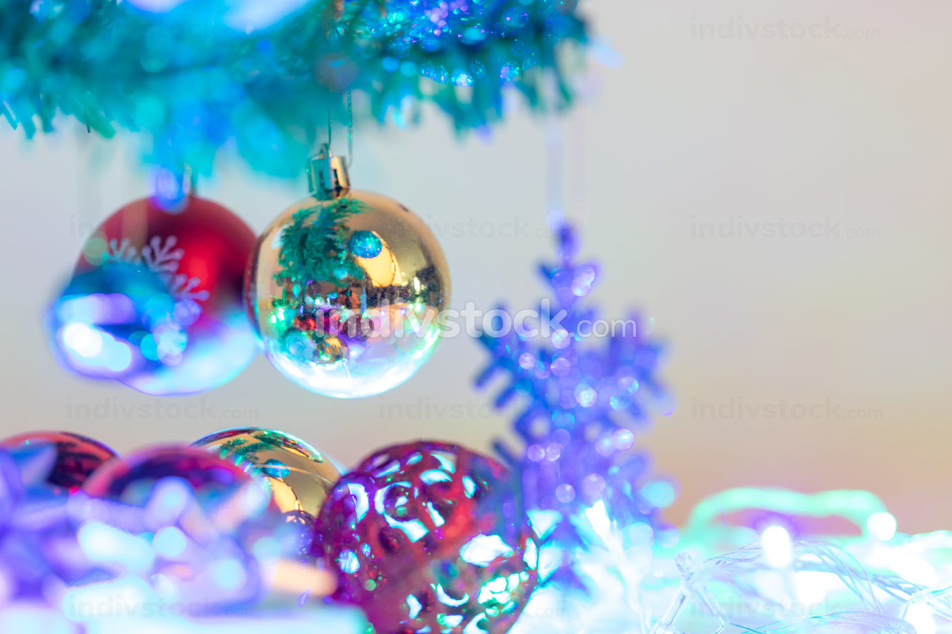 Christmas decorations to celebrate the holiday season