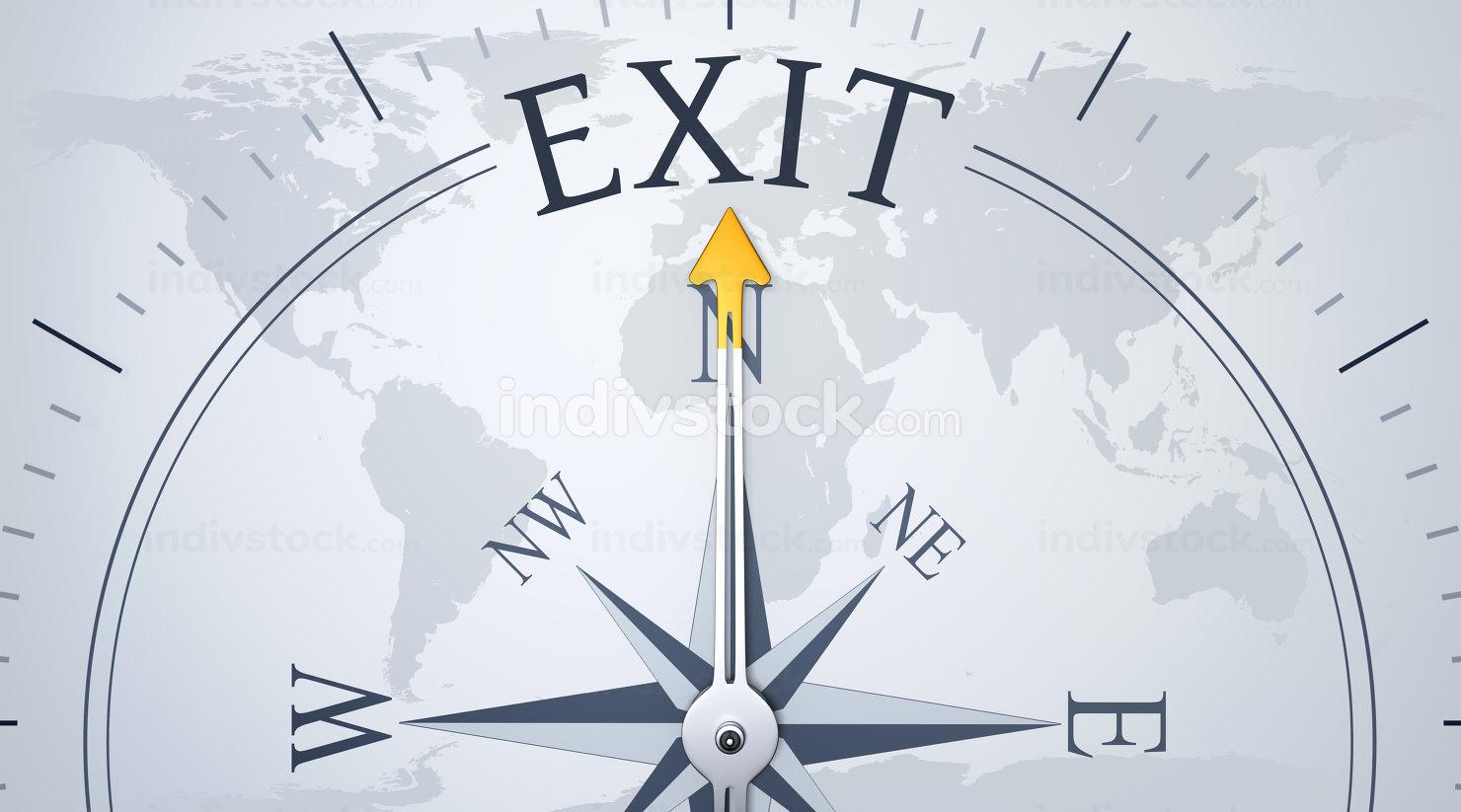 Compass exit