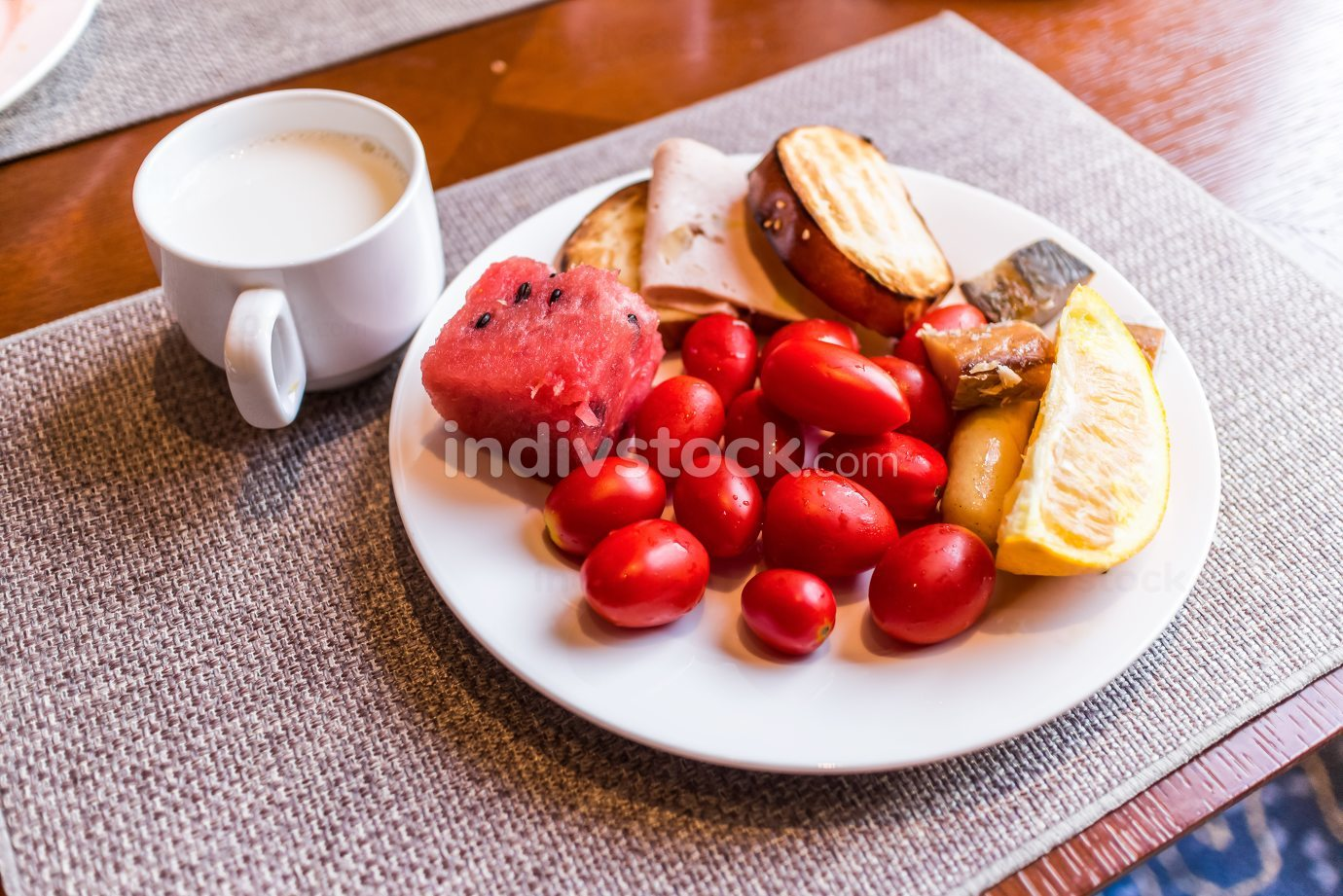 food,healthy breakfast on table