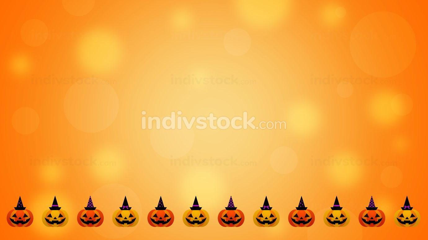 Halloween background - 3D render
