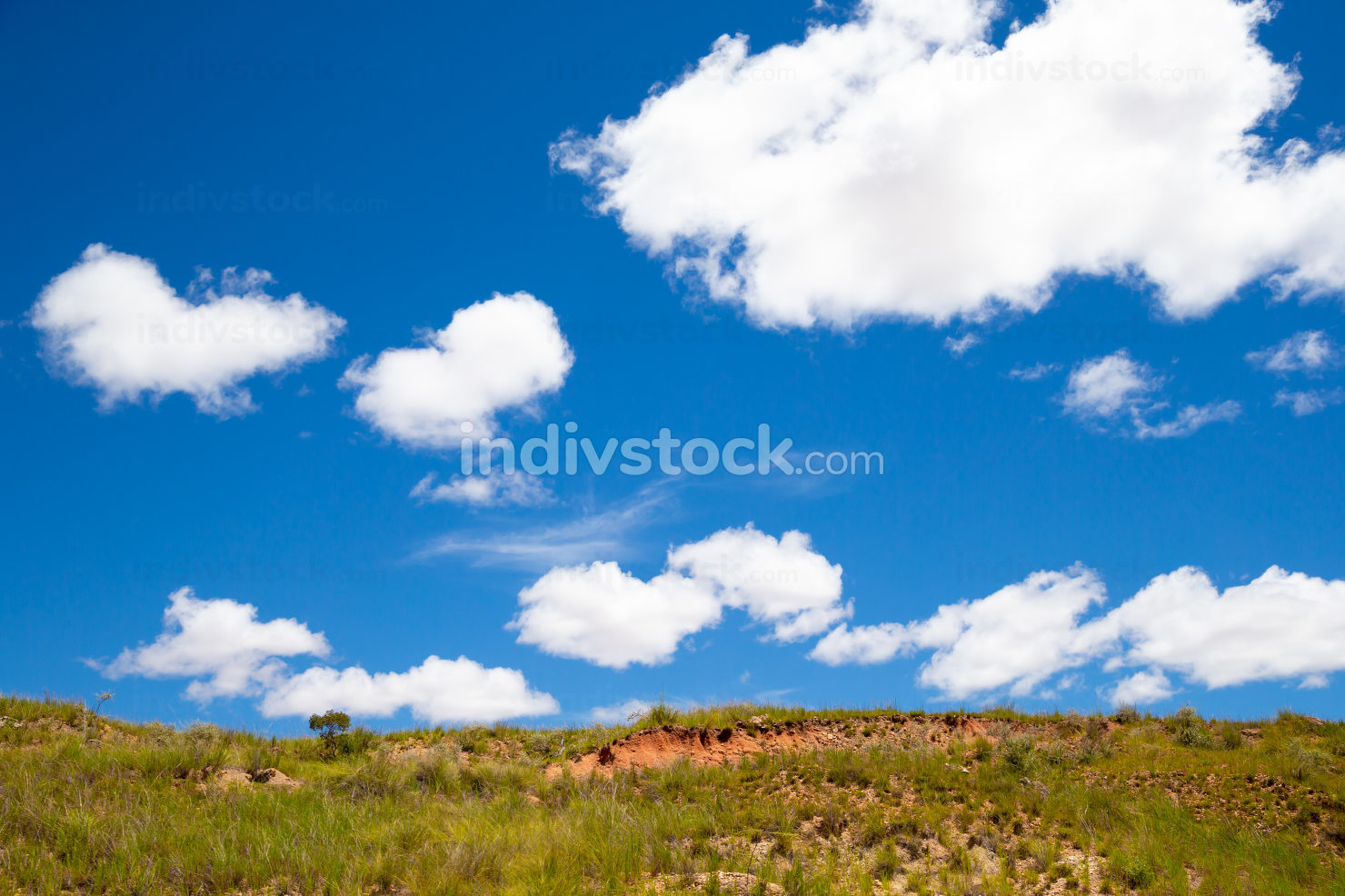 Landscape pictures of the country of Madagascar, with mountains