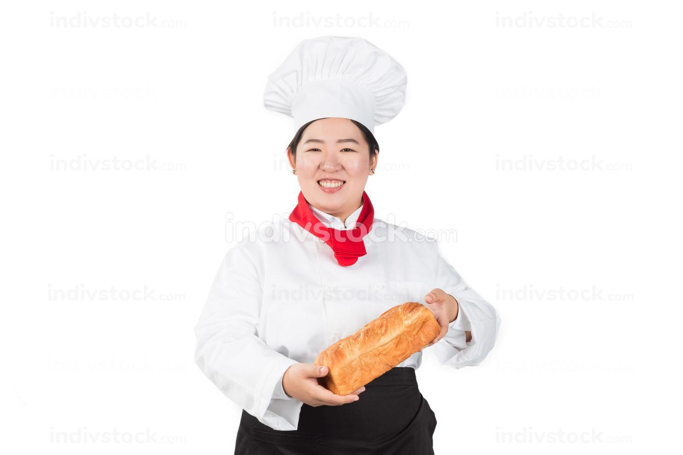 Baker Isolated over white s