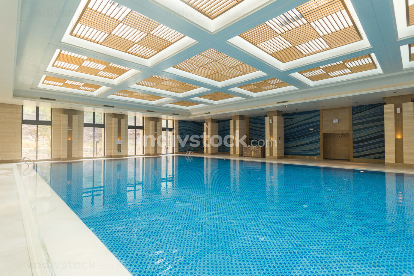 Indoor swimming pool nice shot