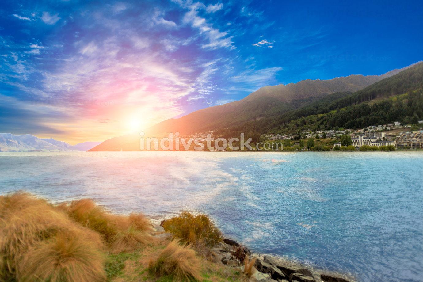 View of Queenstown New Zealand niceshot