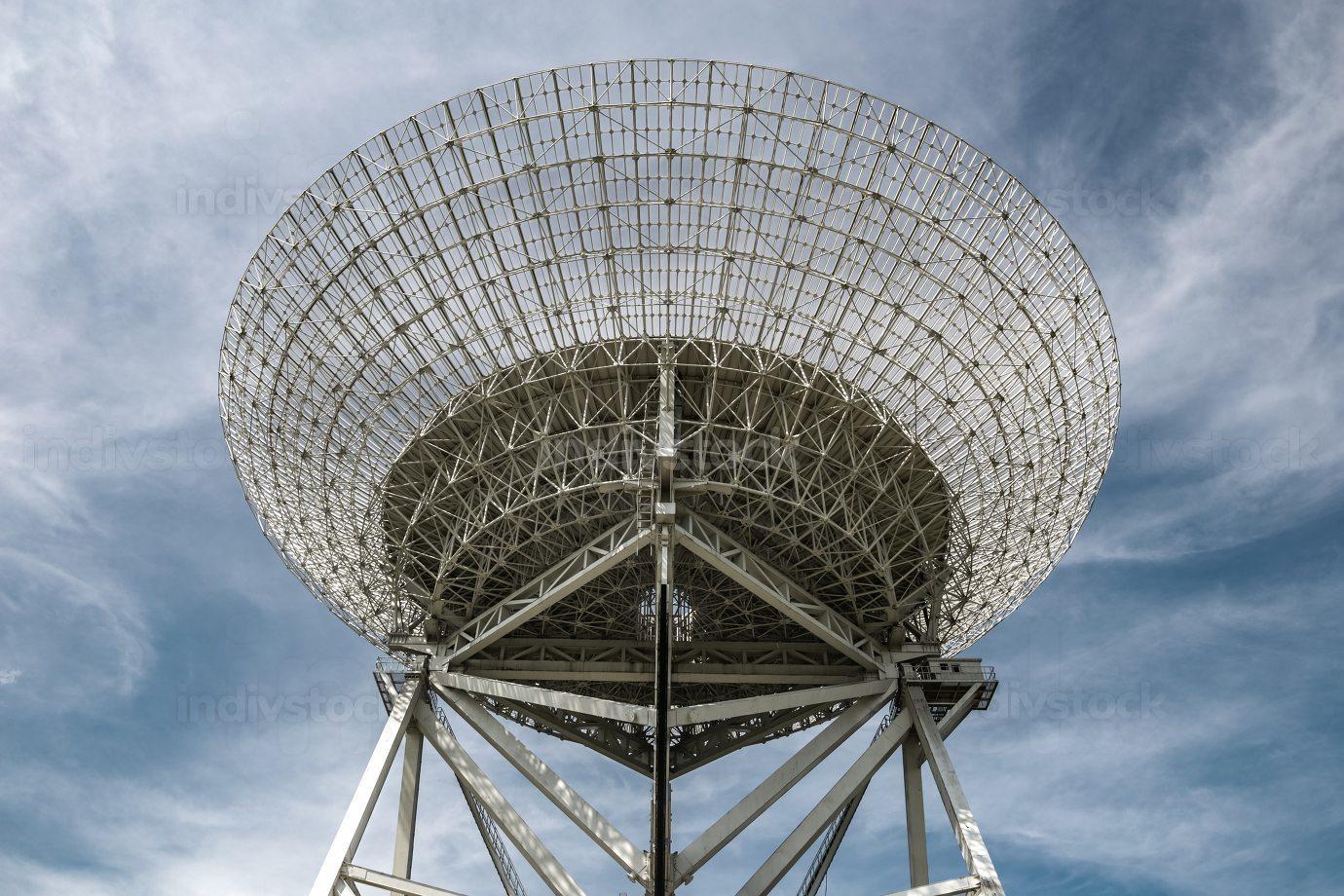 Radio Telescope array in Beijing,China.