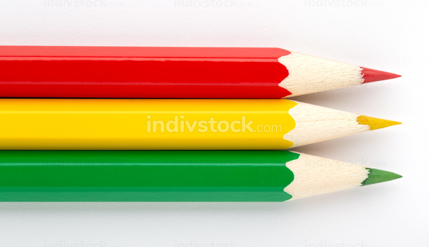 State flags made of colorful wooden pencils Bolivia