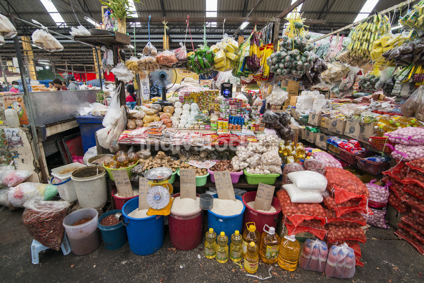 THAILAND MAE SOT CITY MARKET STREET