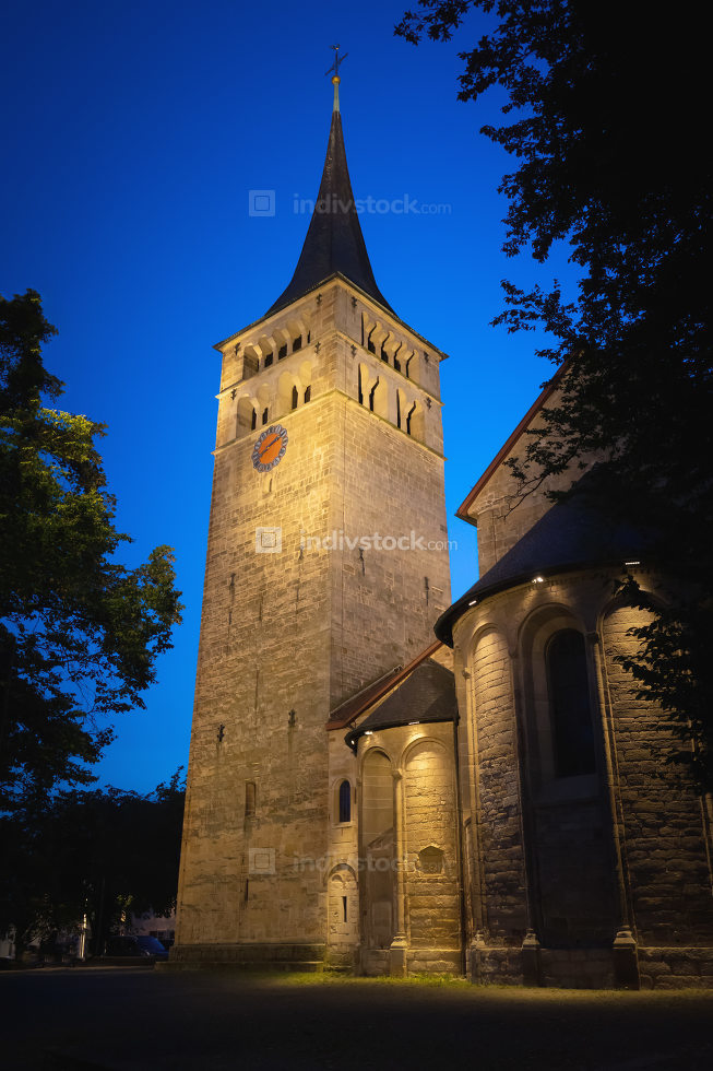 the Martins Church at Sindelfingen south Germany