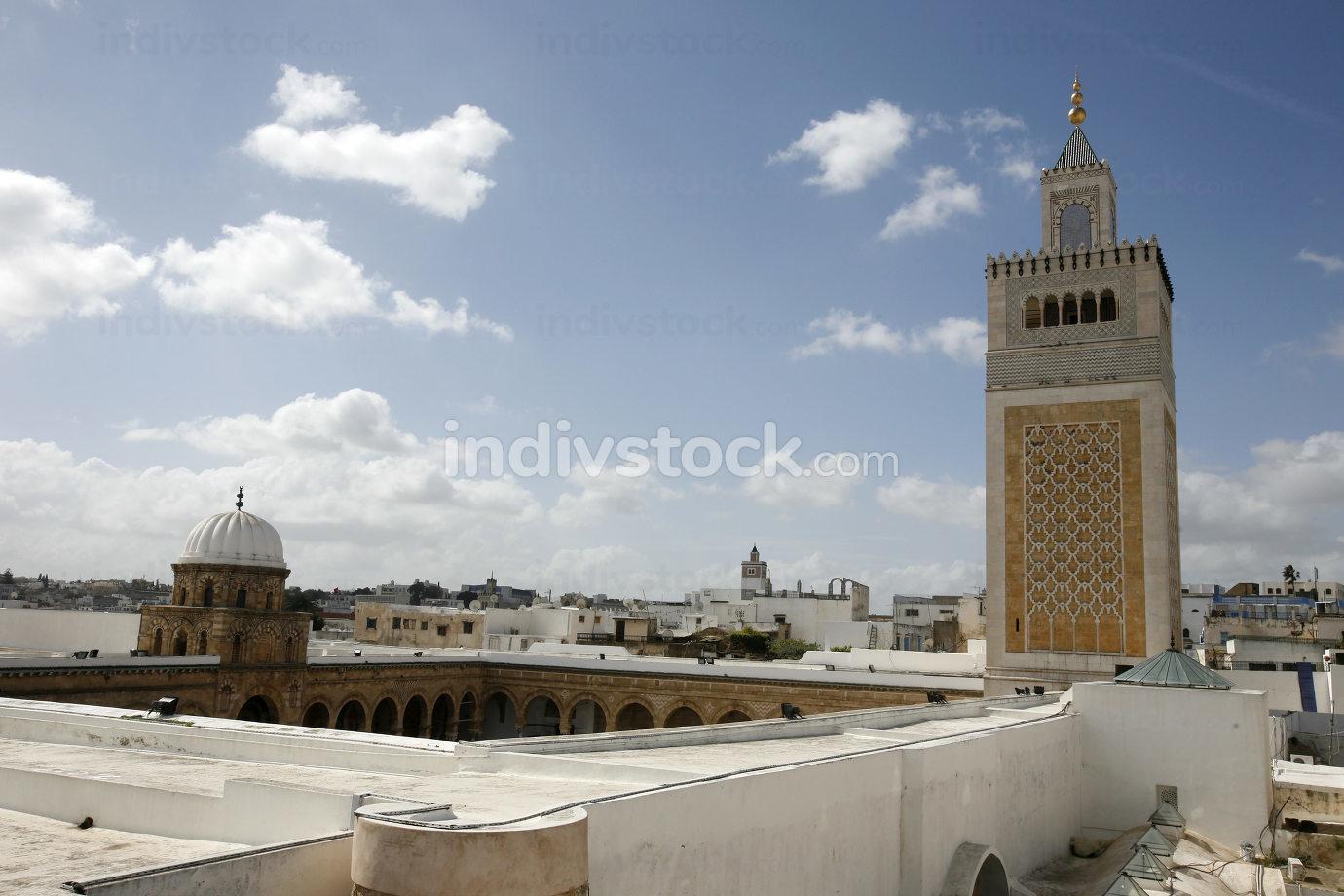 Tunisian Peootery in front of the Ez Zitouna or Al Zaytuna Mosque, Tunisia, Sidi Bou Sair, March, 2009