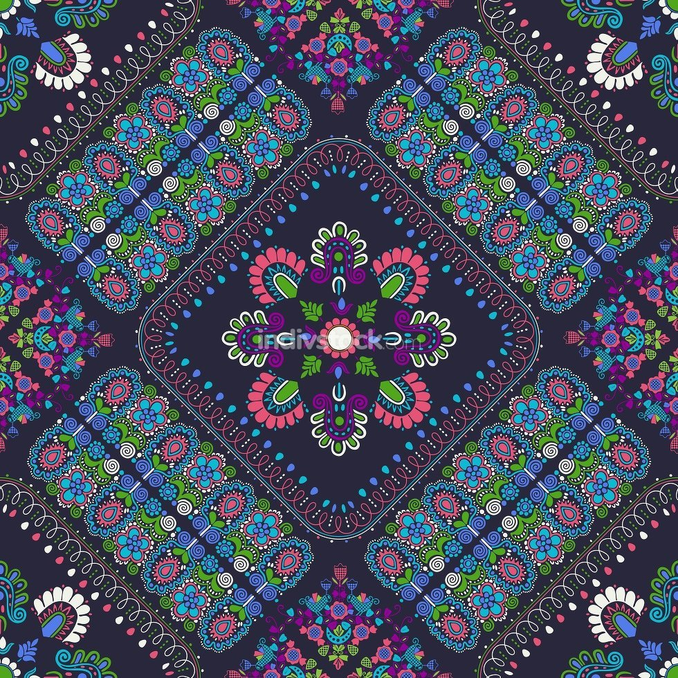 Hungarian embroidery pattern