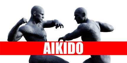 Aikido Class Combat Fighting Sports Background