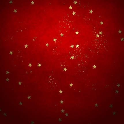 An illustration of a Christmas stars background