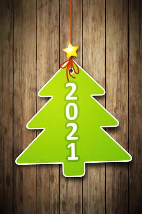christmas tree tag 2021