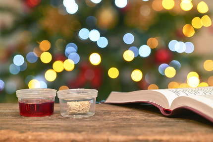 Communion In One Time Use Containers To Protect People