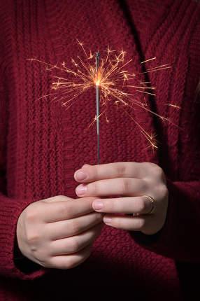Hands Girl Holding Sparkles
