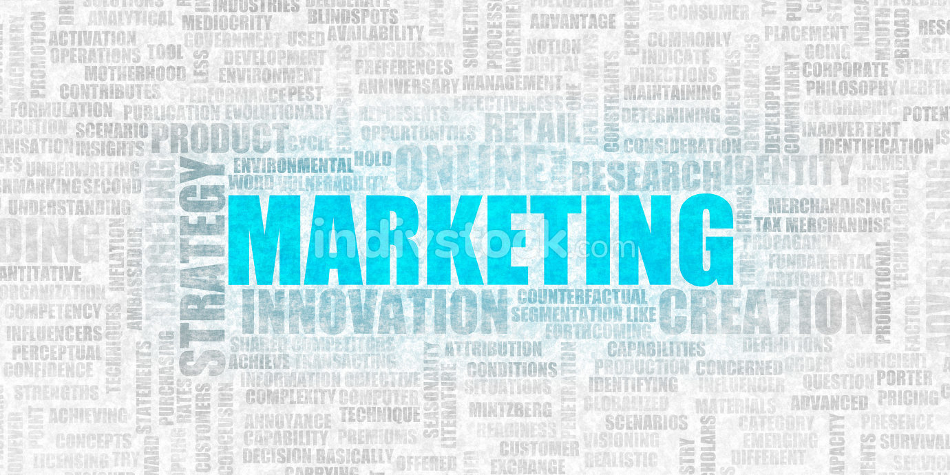 Marketing Innovation as  Business Industry Concept Abstract