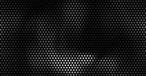 hexagonal dark pattern abstract design background 3d-illustration