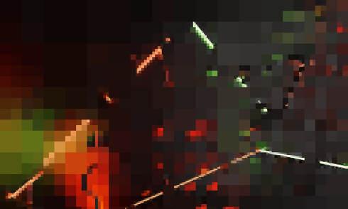 pixel error poor resolution or poor image quality 3d-illustration
