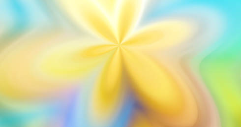 yellow flower abstract creative background graphic 3d-illustration design