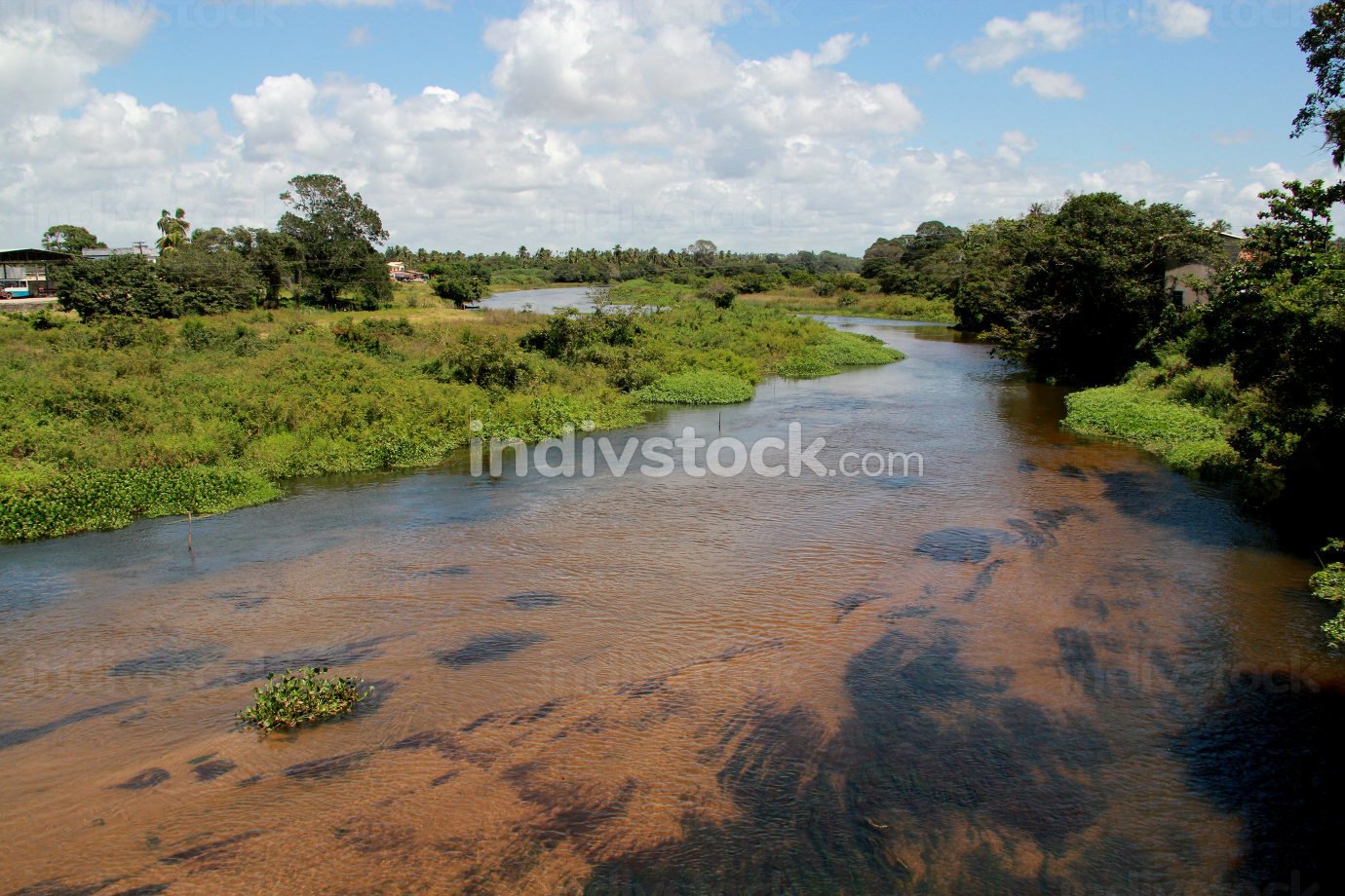conde, bahia Brazil, september 7, 2012, Itapicuru River bed