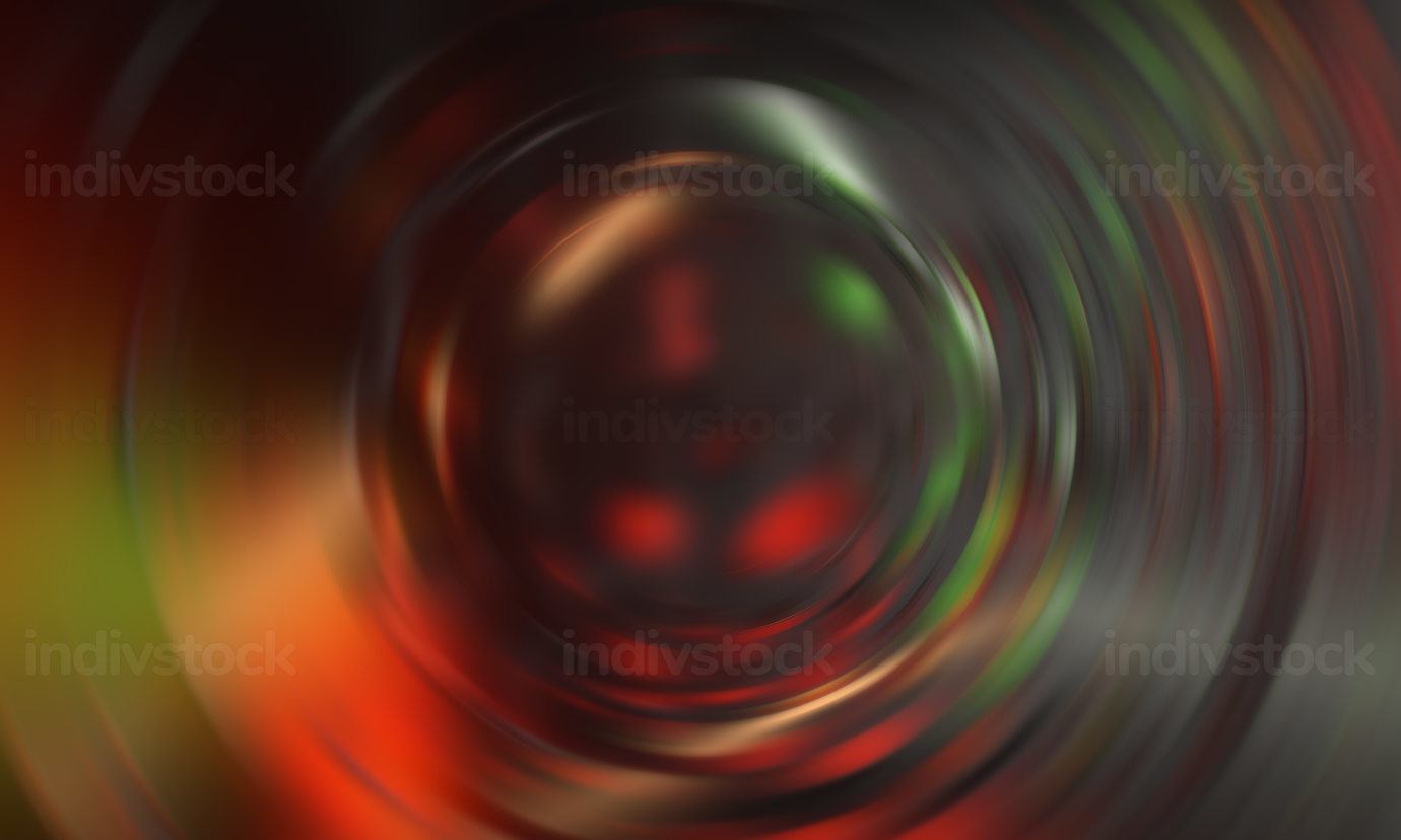 creative swirl abstract dark gray red green background 3d-illustration
