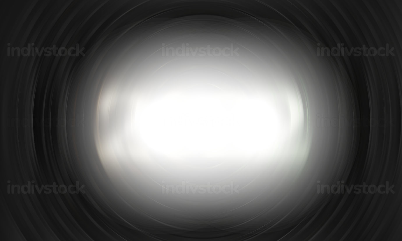 dark gray swirl and white highlight abstract background 3d-illustration