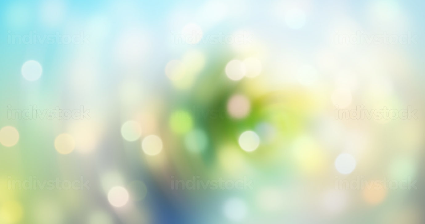 green and bokeh abstract creative background graphic 3d-illustration design