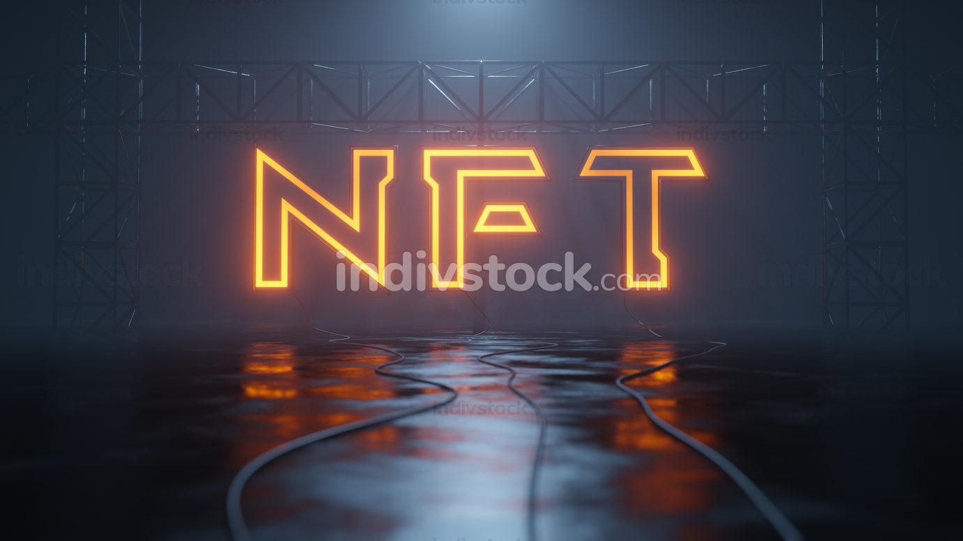 neon light sign nft