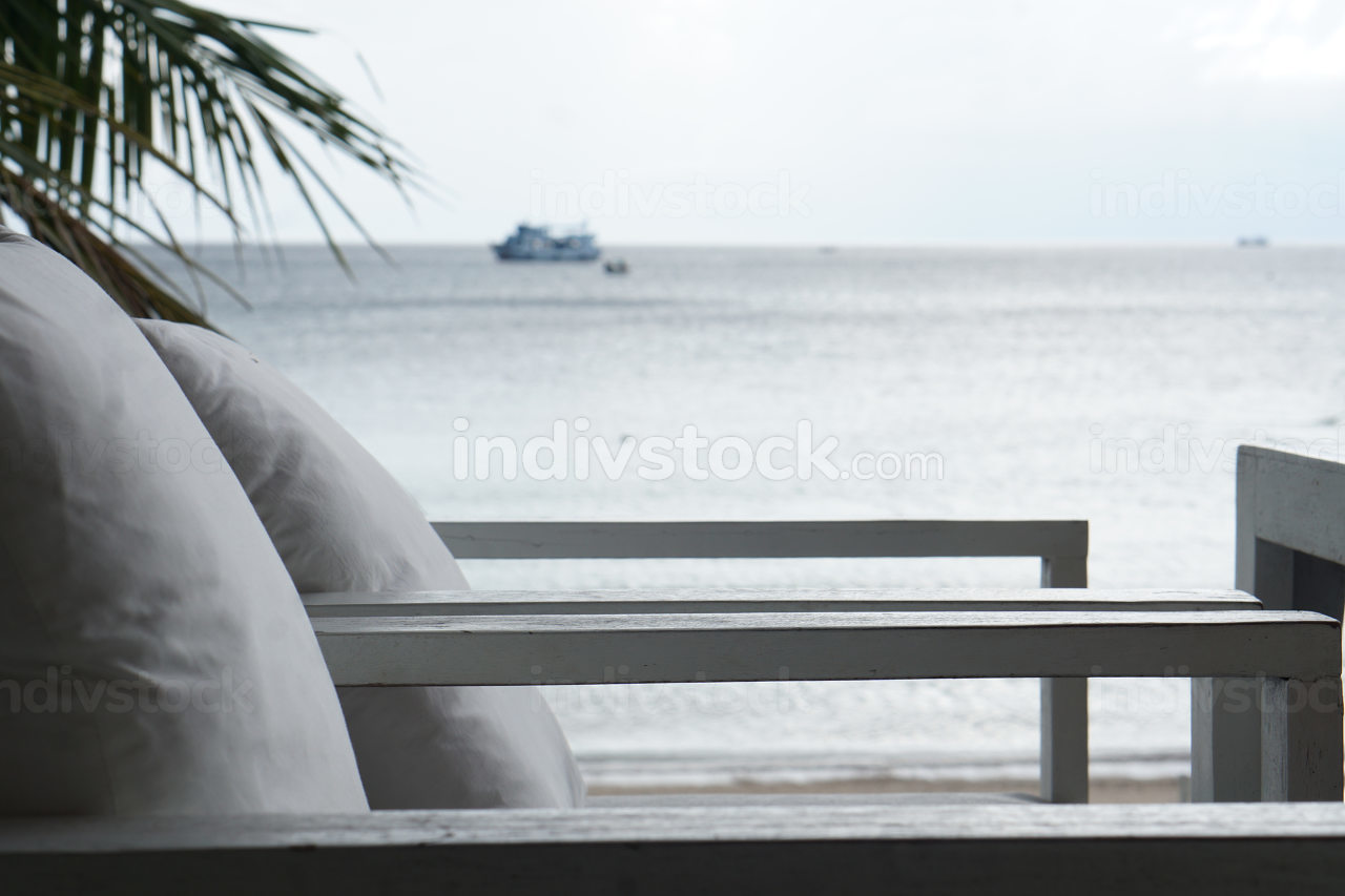 seats directly at the Beach, a beach view restaurant at the ocean