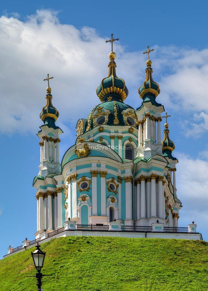 St. Andrew Church in Kyiv, Ukraine