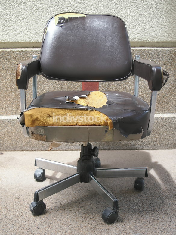 Damaged office chair